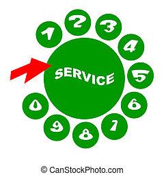 téléphone, service consommateur