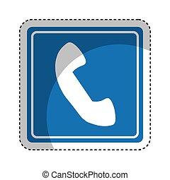 téléphone, signal, trafic, service