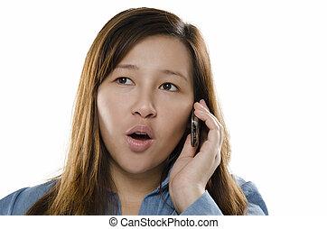 téléphone, surprise