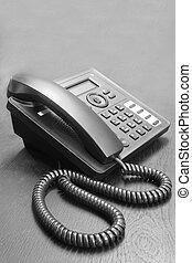 téléphone, table