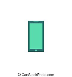 téléphone, vecteur, icône