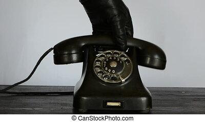 téléphone, vendange, appeler