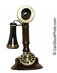 téléphone, vendange, vieux, retro, téléphone