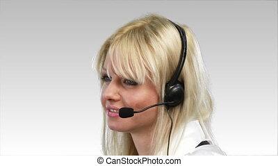 téléphoner femme, attrative