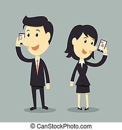 téléphones, intelligent