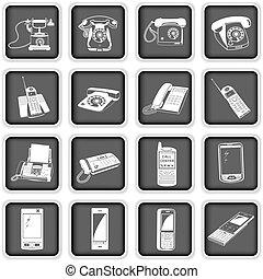 téléphones, variété