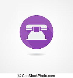 téléphonez icône