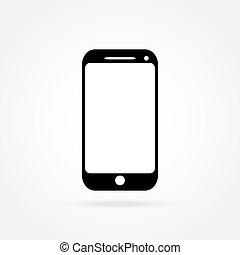 téléphonez icône, mobile