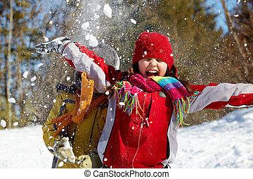 tél, öröm