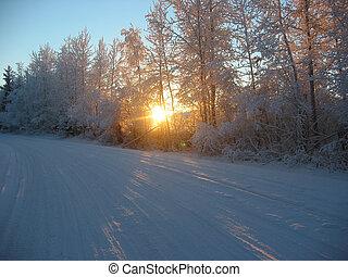 tél, út