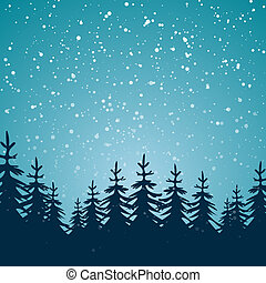 tél, háttér