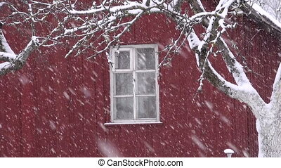 tél, hó, hópehely, hó