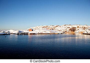 tél parkosít, norvégia