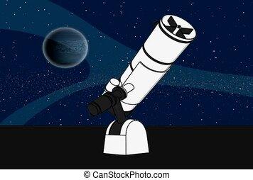 télescope, espace