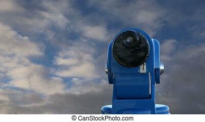 télescope, téléspectateur