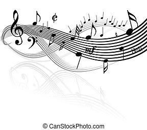 téma, zene