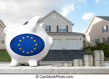 tényleges, fogalom, birtok, part, egyesítés, épület, érmek, befektetés, falánk, háttér, kazalba rak, európai