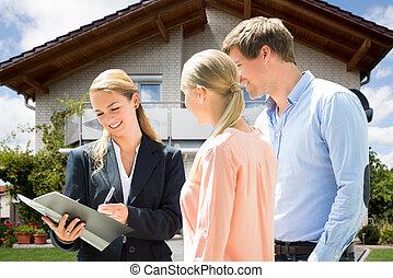 tényleges, magyarázó, birtok, épület, párosít, összehúz, ügynök, vásárlás