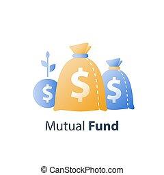 término, financiero, ventaja, renta, allocation, constante, aumento, largo, estrategia, fondo, tasa, crecimiento, valor, interés, inversión, mutuo