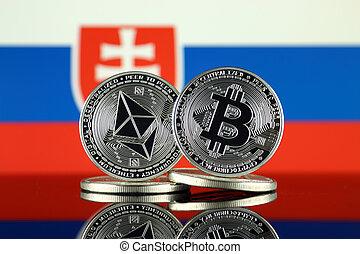 términos, versión, flag., físico, (btc), bitcoin,...