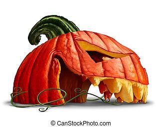 dessin de halloween citrouille effrayant lanterne o. Black Bedroom Furniture Sets. Home Design Ideas