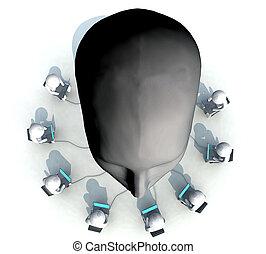 tête, informatique