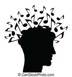 tête, musical