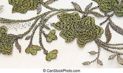 têxtil, experiência verde