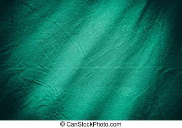 têxtil, fundo, verde, ou, textura