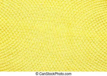 têxtil, luz, brilhante, amarela, experiência.