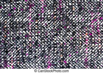 têxtil, tecido lã, fundo