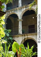 típico, cubano, edificio