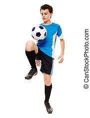 tízenéves kor, futball játékos