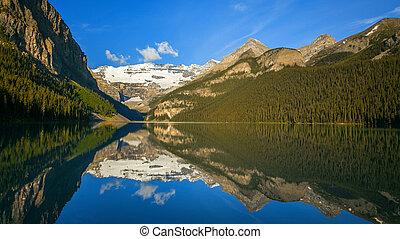 tó louise, alatt, banff nemzeti dísztér