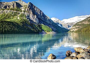 tó louise, banff nemzeti dísztér