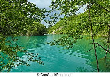 tó, plitvice