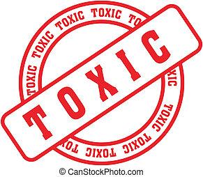 tóxico, stamp3, palavra
