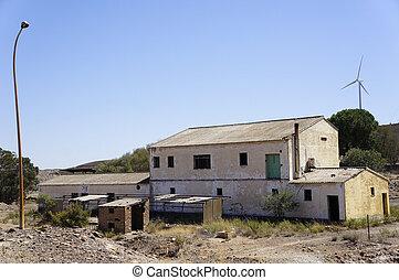 történelem, ipari, spanyolország