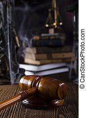 törvény, és, igazságosság, fogalom
