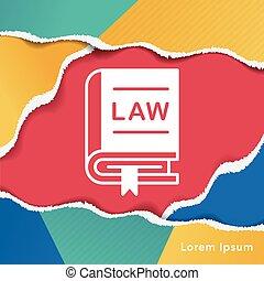 törvény, ikon