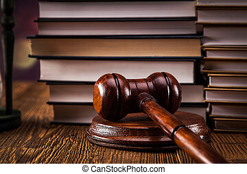 törvény, kód, és, árverezői kalapács