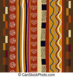 törzsi, pattern., mód, seamless