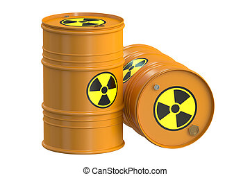tønder, 3, radioaktive, gengivelse