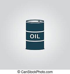 tønder, olie, ikon