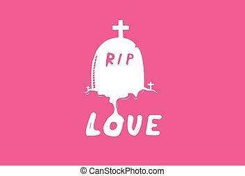 túmulo, amor