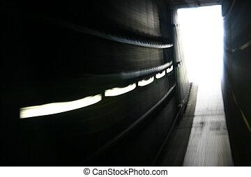 túnel, mancha