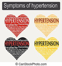 tünetek, közül, magas vérnyomás