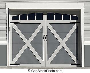 tür, garage, design