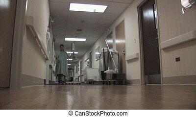 türelmes, alatt, kórház, bejárat