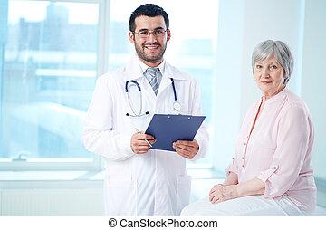 türelmes, orvos